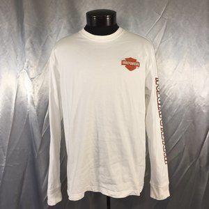Harley Davidson mens long sleeve logo sweater